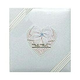 ナカバヤシ Nakabayashi フエルアルバム(婚礼用)「ハッピーウエディング」(Lサイズ)ア-LK-308-W[アLK308W]