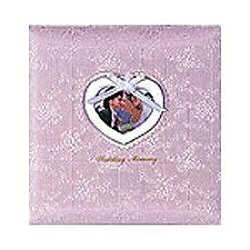 ナカバヤシ Nakabayashi フエルアルバム(婚礼用) 「ウエディングメモリー」 (Lサイズ/シルバー) ア-LK-609-P[アLK609P]