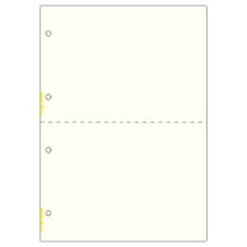 ヒサゴ HISAGO マルチプリンタ帳票 4穴 イエロー BP2017 [A4 /100シート /2面][BP2017]【wtcomo】