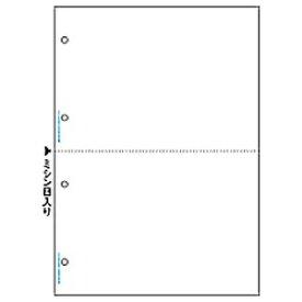 ヒサゴ HISAGO マルチプリンタ帳票 4穴 白 BP2003 [A4 /100シート /2面][BP2003]【wtcomo】