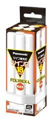 パナソニック Panasonic FDL18EX-L コンパクト蛍光灯 ツイン2 [電球色][FDL18EXL]