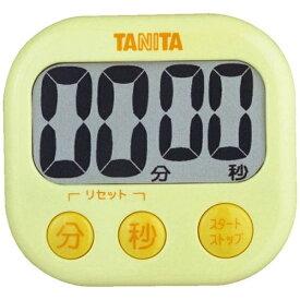タニタ TANITA デジタルタイマー 「でか見えタイマー」 TD-384-YL イエロー[TD384YL]