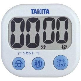 タニタ TANITA デジタルタイマー 「でか見えタイマー」 TD-384-WH ホワイト[TD384WH]【rb_pcp】