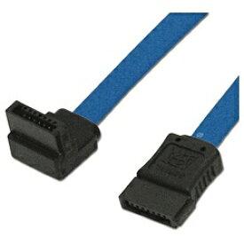 アイネックス ainex シリアルATAケーブル L型コネクタ(ブルー・70cm) SAT-3007LBL[SAT3007LBL]