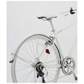 アサヒサイクル Asahi Cycle アサヒサイクル シークレットコード〈SCC700〉用 マッドガードセット(ホワイト) DB115