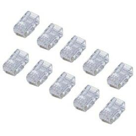 エレコム ELECOM CAT6用RJコネクタ(10個セット) LD-6RJ45T10[LD6RJ45T10]