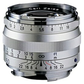 カールツァイス Carl Zeiss カメラレンズ T* 1.5/50 ZM C Sonnar(ゾナー) シルバー [ライカM /単焦点レンズ][CSONNART*1550ZM]