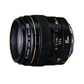 キヤノン CANON カメラレンズ EF85mm F1.8 USM ブラック [キヤノンEF /単焦点レンズ][EF8518N]