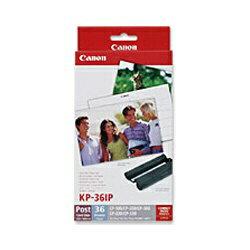 キヤノン CANON カラーインク/ペーパーセット (ポストカード・36枚分) KP-36IP[KP36IP]