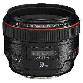 キヤノン CANON カメラレンズ EF50mm F1.2L USM ブラック [キヤノンEF /単焦点レンズ][EF50MMF12LUSM]