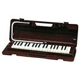 ヤマハ YAMAHA ピアニカ 37鍵盤 P-37D マルーン[鍵盤ハーモニカ P37D]