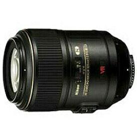 ニコン Nikon カメラレンズ AF-S VR Micro-Nikkor 105mm f/2.8G IF-ED NIKKOR(ニッコール) ブラック [ニコンF /単焦点レンズ][AFSVRMCED10528G]
