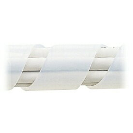 サンワサプライ SANWA SUPPLY CA-SP20W-5 (ケーブルタイ/スパイラル・ホワイト/5m)[CASP20W5]