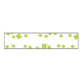 カシオ CASIO おなまえテープ 四つ葉のクローバー柄テープ NAME LAND(ネームランド) XR-12E2 [黒文字 /12mm幅][XR12E2]