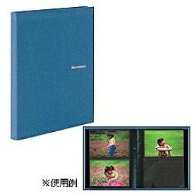 セキセイ SEKISEI レミニッセンス ミニポケットアルバム(KGサイズ 80枚収納/ブルー)XP-80K[XP80K]