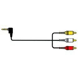 JVC ジェイブイシー VX-ML20G RCAケーブル [2.0m /ピンプラグ+ステレオ音声⇔4極ミニプラグ][VXML20G]