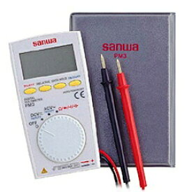 三和電気計器 超薄型多機能コンパクトデジタルマルチメータ PM3