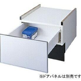 パナソニック Panasonic ビルトイン食器洗い乾燥機用 ドアパネルタイプ専用 下部収納キャビネット N-PC450S シルバー[NPC450S] panasonic