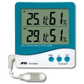 A&D エー・アンド・デイ AD-5648A 温湿度計 [デジタル][AD5648A]