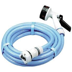 アイリスオーヤマ IRIS OHYAMA 散水用品 耐圧糸入りカットホーススリム5m ライトブルー 5MAJ12