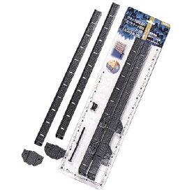 アイリスオーヤマ IRIS OHYAMA ラティス固定金具 コンクリート壁用 ストレート LK43B (1セット2個)