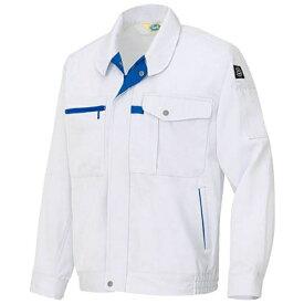アイトス AITOZ エコ交織マルチワーク 長袖ブルゾン シルバーグレー LL AZ6360003LL