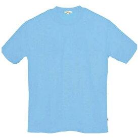 アイトス AITOZ 吸汗速乾クールコンフォート 半袖Tシャツ男女兼用 サックス LL AZ10574007LL