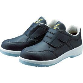 シモン Simon 静電プロスニーカー 短靴 8818N紺静電仕様 23.5cm 8818BUS23.5