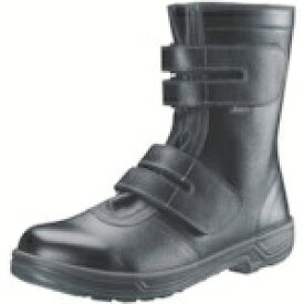 シモン Simon 安全靴 長編上靴マジック式 SS38黒 25.0cm SS3825.0