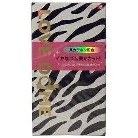 オカモト okamoto ラブドーム ゼブラ グリーン 12個入り<コンドーム>〔避妊用品〕