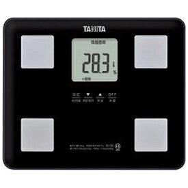 タニタ TANITA タニタ 体重体組成計 健康管理 お手軽 ダイエット コンパクト 小型 立てかけ収納OK ブラック BC-760[BC760BK]