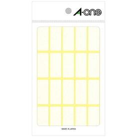 エーワン A-one フリーラベル 白無地 06004 [15シート /20面 /マット]【aoneC2009】