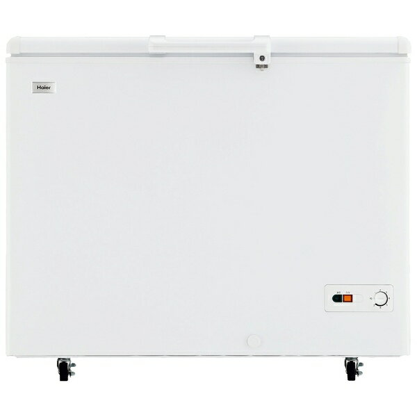 【標準設置費込み】 ハイアール 上開き式冷凍庫 「Haier Joy Series」(319L) JF-NC319F-W ホワイト[JFNC319F_W]