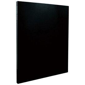 セキセイ SEKISEI KP-2512 クリヤーファイル<高透明>A4-S 20ポケット ブラック[KP2512]