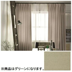 スミノエ SUMINOE ドレープカーテン ピンヘッド(100×200cm/グリーン)【日本製】[G1002100X200]