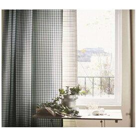 スミノエ SUMINOE ドレープカーテン ギンガム(100×135cm/ダークブルー)【日本製】[G1021100X135]
