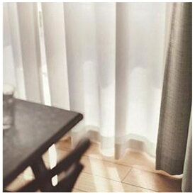 スミノエ SUMINOE レースカーテン エール(100×198cm/ナチュラルホワイト)【日本製】[G1031100X198]