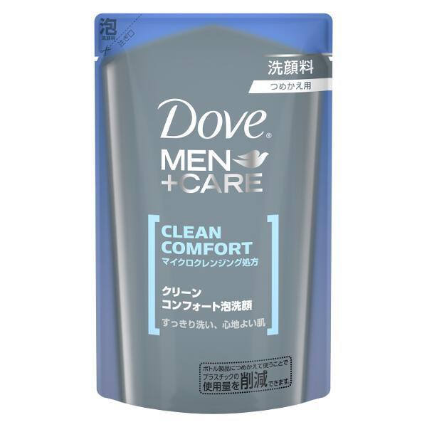 ユニリーバJCM Unilever Dove(ダヴ) クリーンコンフォート泡洗顔 つめかえ用(110ml)〔洗顔料〕