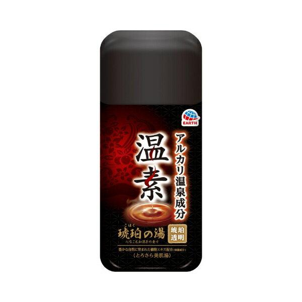 アース製薬 【温素】琥珀の湯 600g〔入浴剤〕