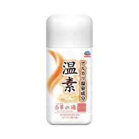 アース製薬 Earth 温素白華の湯 (600g) [入浴剤]