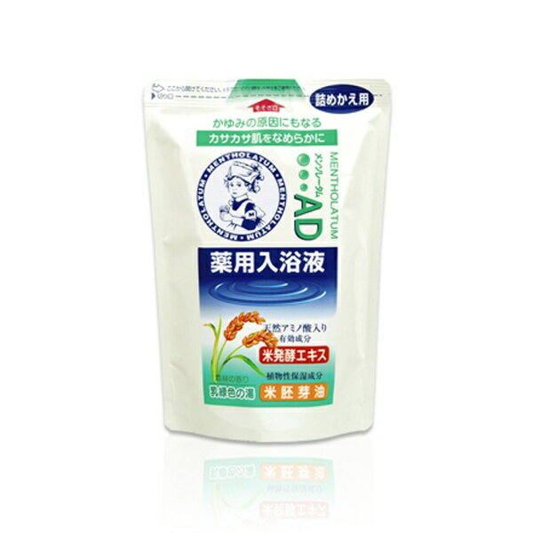 ロート製薬 ROHTO Mentholatum(メンソレータム)AD薬用入浴剤森林の香り つめかえ用〔入浴剤〕