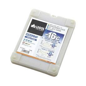 ロゴス LOGOS 保冷剤 氷点下パックGT-16℃・ハード1200g 81660611[81660611]