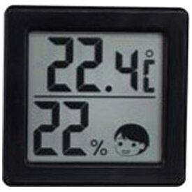 ドリテック dretec O-257 温湿度計 ブラック [デジタル][O257]