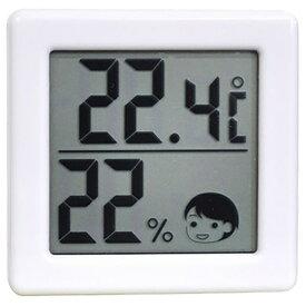 ドリテック dretec O-257 温湿度計 ホワイト [デジタル][O257]
