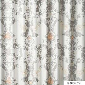 スミノエ SUMINOE ドレープカーテン ミッキー/デコレート(100×135cm/グレー)【日本製】[生産完了品 在庫限り][M1124100X135]