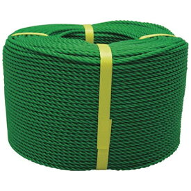 ユタカメイク YUTAKA ロープ PEロープ巻物 6φ×200m グリーン PE103