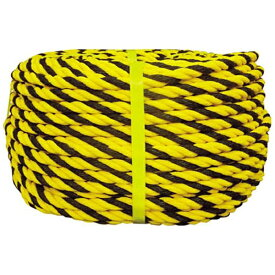 ユタカメイク YUTAKA ロープ 標識ロープ巻物 12φ×100m Y12100