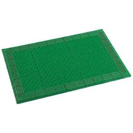 テラモト TERAMOTO テラエルボーマット600×900mm緑 MR0520401