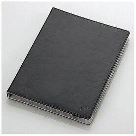 エレコム ELECOM 8.5〜10.5インチタブレット用[横幅 231〜266mm] タブレットケース レザータイプ ブラック TB-10LCHBK[TB10LCHBK]