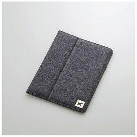 エレコム ELECOM 8.5〜10.5インチタブレット用[横幅 231〜266mm] タブレットケース ファブリック ブラック TB-10FCHBK[TB10FCHBK]